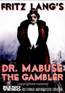 Dr. Mabuse: The Gambler Movie