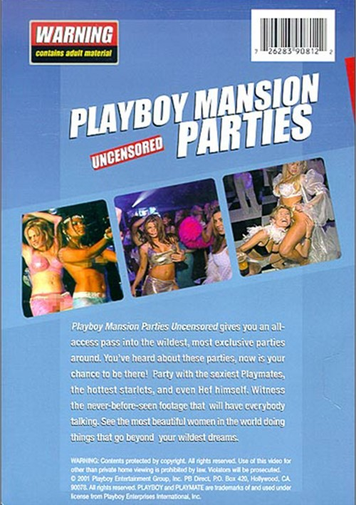 playboy party uncensored