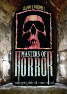 Masters Of Horror: Season One - Volume One Movie