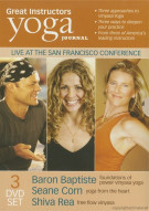 Yoga Journal: Great Instructors (3 Pack) Movie