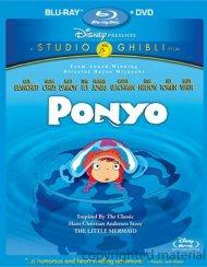 Ponyo (Blu-ray + DVD Combo) Blu-ray