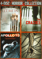 4 Disc Horror Collection Movie