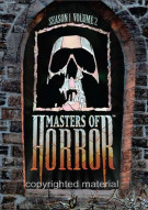 Masters Of Horror: Season One - Volume Two Movie
