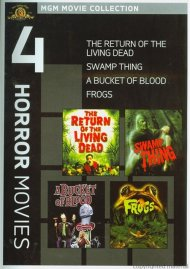 Bucket Of Blood, A / Frogs / The Return Of The Living Dead / Swamp Thing (4 Horror Movies) Movie
