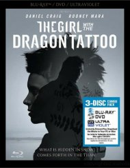 Girl With The Dragon Tattoo, The (Blu-ray + DVD + UltraViolet) Blu-ray