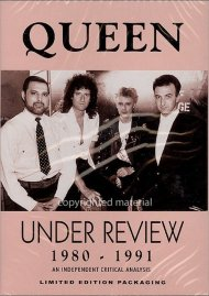 Queen: Under Review - 1980-1991 Movie