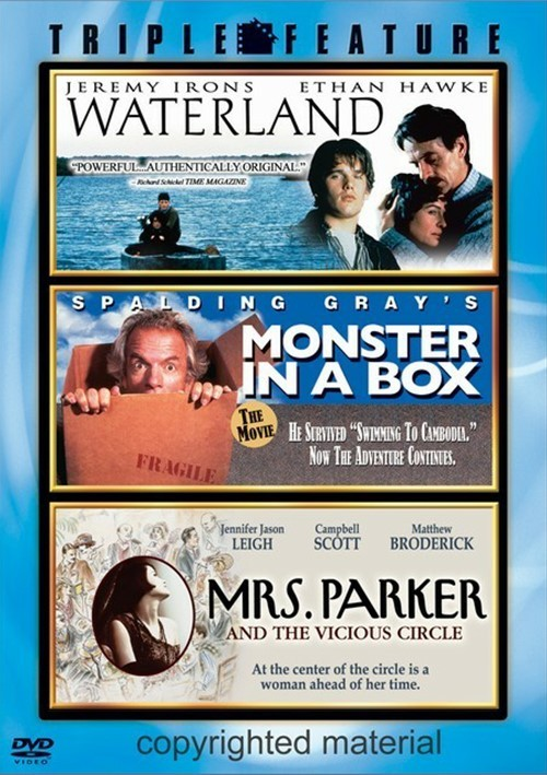 Waterland / Monster In A Box / Mrs. Parker And The Vicious Circle Movie