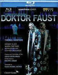 Ferruccio Busoni: Doktor Faust Blu-ray