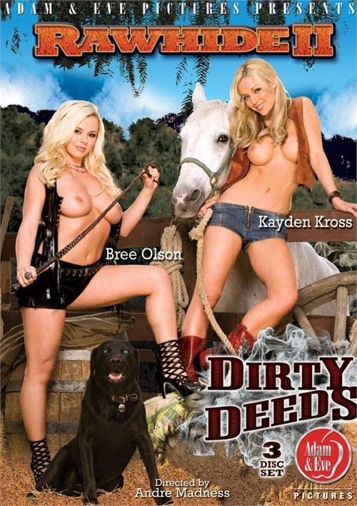 Rawhide II: Dirty Deeds classic porn video from Adam & Eve.