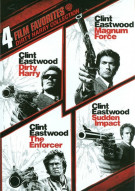 4 Film Favorites: Dirty Harry Collection Movie