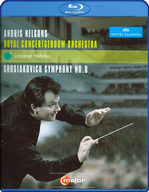 Andris Nelsons: At Lucerne Festival - Shostakovich Symphony No. 8 Blu-ray