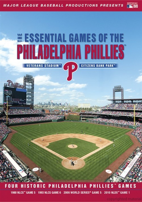 Essential Games Of The Philadelphia Phillies Movie