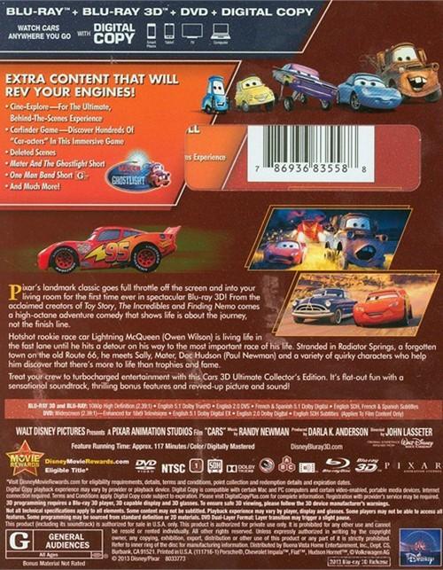 Buy Cars  Dvd