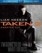 Taken 2 (Blu-ray + DVD + Digital Copy) Blu-ray