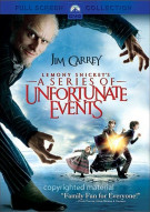 Lemony Snickets A Series Of Unfortunate Events (Fullscreen) Movie