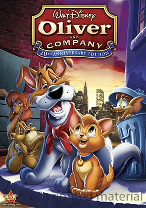 Oliver And Company: 20th Anniversary Edition Movie