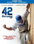 42 (Blu-ray + DVD + UltraViolet) Blu-ray