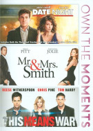 Date Night / Mr. & Mrs. Smith / This Means War (3-Film Collection) Movie