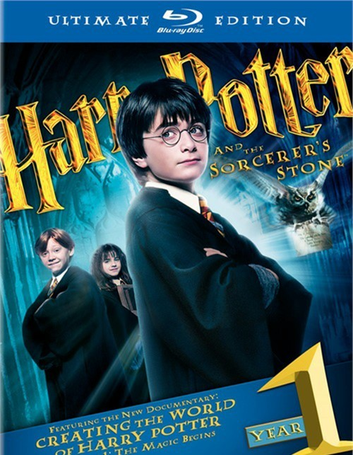 Harry Potter And The Sorcerers Stone: Ultimate Edition Blu-ray