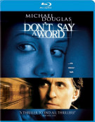 Dont Say A Word Blu-ray