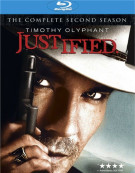 Justified: The Complete Second Season Blu-ray