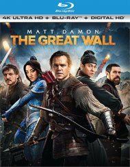Great Wall, The (4K Ultra HD + Blu-ray + UltraViolet) Blu-ray