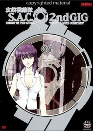 Ghost In The Shell: S.A.C. 2nd Gig Volume 6 - Limited Edition Movie