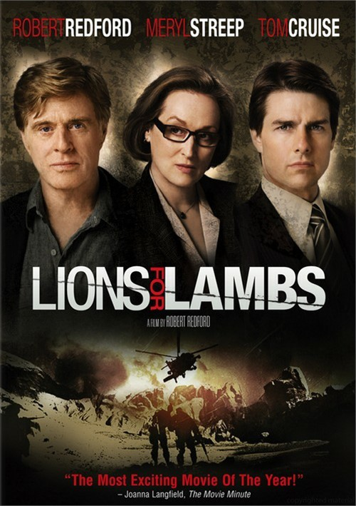 Lions For Lambs (Fullscreen) Movie