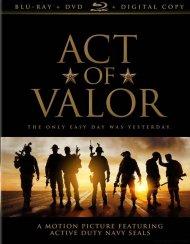 Act Of Valor (Blu-ray + DVD + Digital Copy) Blu-ray