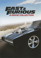 Fast & Furious 8-Movie Collection Movie