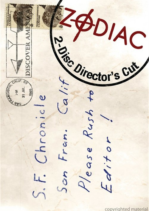 Zodiac: Directors Cut Movie