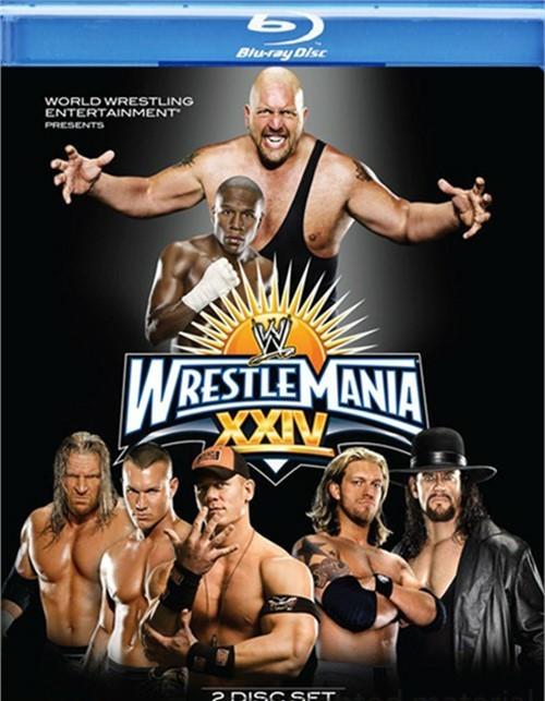 WWE: Wrestlemania XXIV Blu-ray