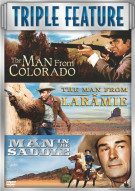 Man From Colorado, The / Man From Laramie / Man In The Saddle (3 Pack) Movie