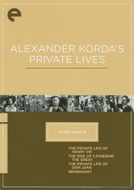 Alexander Kordas Private Lives: Eclipse From The Criterion Collection Movie