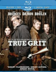 True Grit (Blu-ray + DVD + Digital Copy) Blu-ray