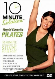 10 Minute Solution: Rapid Results Pilates Movie