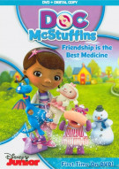 Doc McStuffins: Friendship Is the Best Medicine (DVD + Digital Copy) Movie