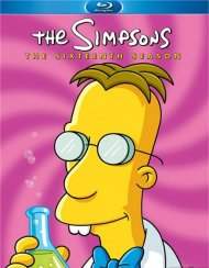 Simpsons, The: The Complete Sixteenth Season Blu-ray
