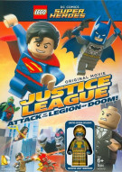 Lego DC Super Heroes: Justice League - Attack Of The Legion Of Doom! Movie