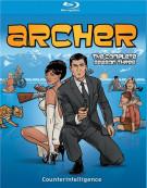 Archer: The Complete Season Three Blu-ray