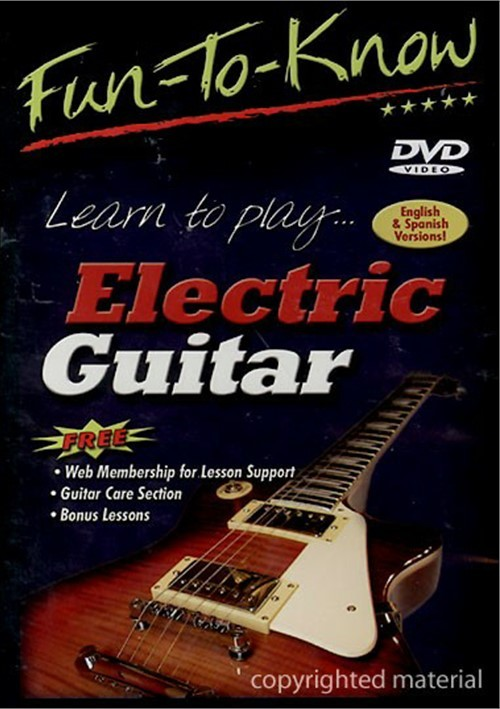 fun to know learn to play electric guitar dvd 2004 dvd empire. Black Bedroom Furniture Sets. Home Design Ideas