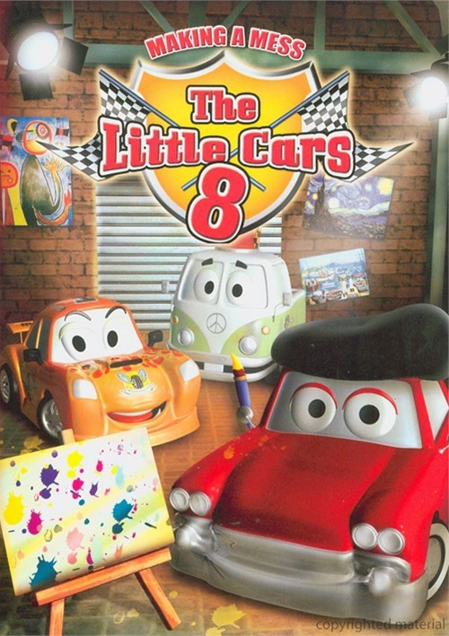 Little Cars 8, The: Making A Mess Movie