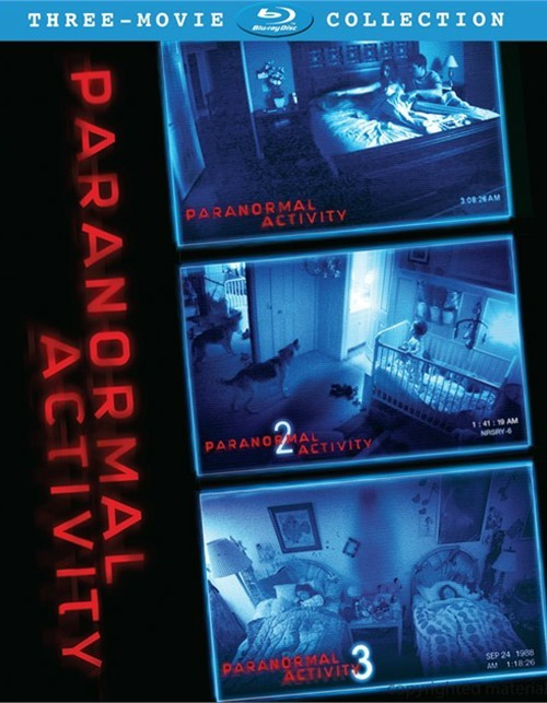 Paranormal Activity Three-Movie Collection Blu-ray