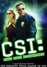 CSI: Crime Scene Investigation - The Complete Third Season Movie