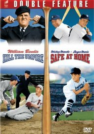 Baseball Double Feature: Kill The Umpire / Safe At Home Movie