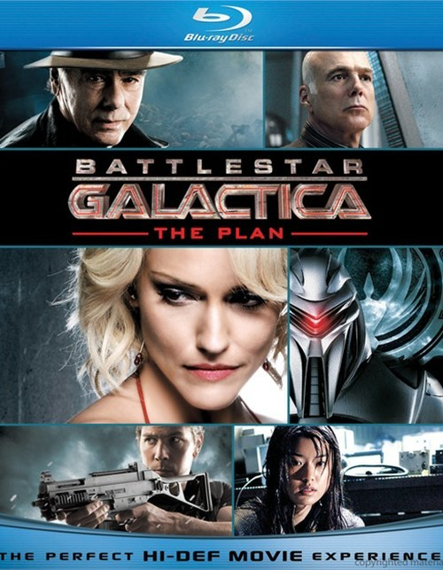 Battlestar Galactica: The Plan Blu-ray