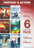 6 Movie Pack: Fantasy & Action Movie