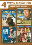 4 Movie Marathon: James Stewart Western Collection Movie