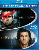 Braveheart / Alexander Revisited (Double Feature) Blu-ray