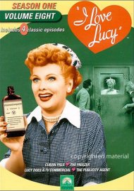 I Love Lucy: Season One - Volume Eight Movie